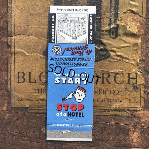 画像1: Vintage Matchbook HOTEL EDISON (MA1736)
