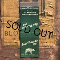 Vintage Matchbook Bear Mountain Inn (MA1780)