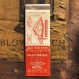 画像1: Vintage Matchbook California Motel (MA1772) (1)