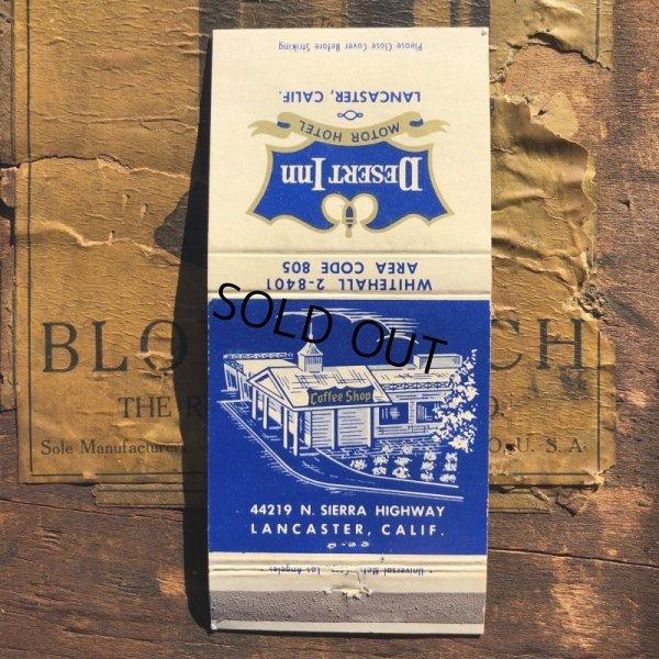 画像1: Vintage Matchbook Desert Inn (MA1778)