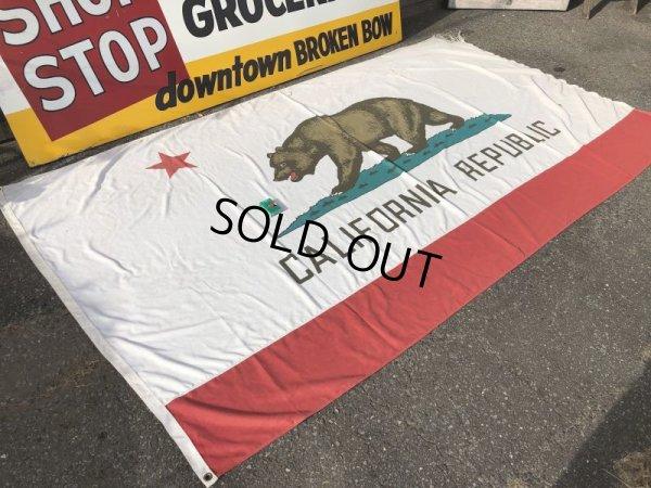 画像2: Vintage Made in U.S.A The Bear California Republic Flag (S335)