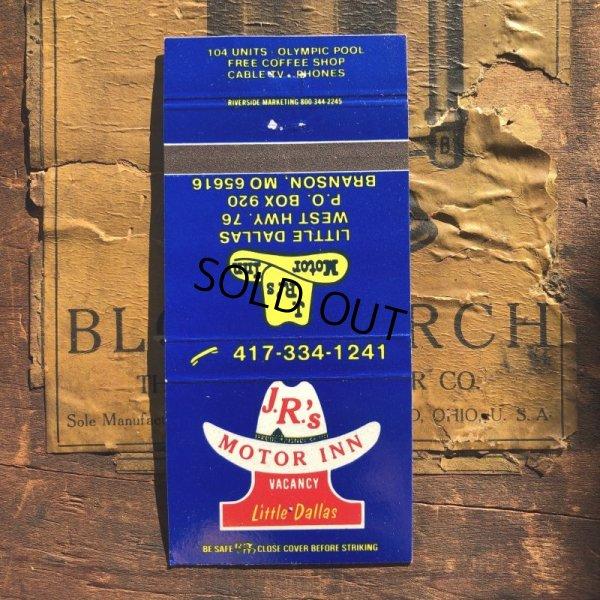 画像1: Vintage Matchbook J.R's Motor Inn (MA1776)