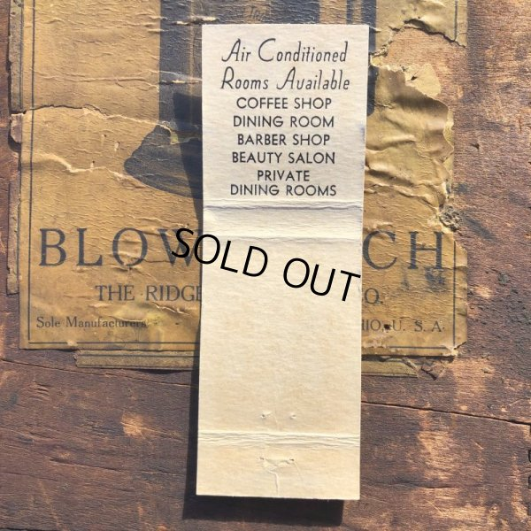 画像2: Vintage Matchbook CLARIDGE HOTEL (MA1727)
