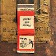 画像1: Vintage Matchbook Happy to serve you! (MA1790) (1)