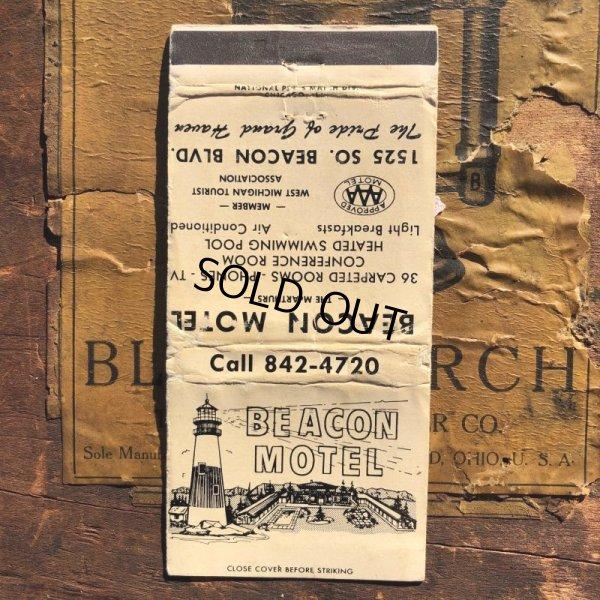 画像1: Vintage Matchbook Beacon Motel (MA1748)