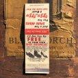 画像1: Vintage Matchbook Shoe Business (MA1811) (1)