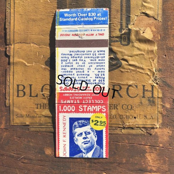画像1: Vintage Matchbook JFK (MA1801)
