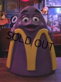 Vintage Mcdonald's Grimace Statue Playland Childs Chair (S337)