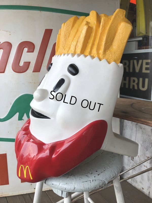 画像2: Vintage Mcdonald's French Fry Statue Playland Childs Chair (S338)