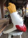 画像3: Vintage Mcdonald's French Fry Statue Playland Childs Chair (S338)