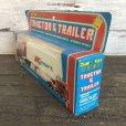 画像4: 70s Vintage K-mart TRACTOR&TRAILER W/box (AC198)