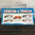 画像3: 70s Vintage K-mart TRACTOR&TRAILER W/box (AC198)