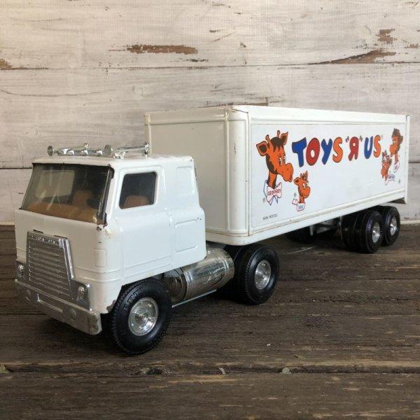 画像2: Vintage Ertl Toys Rus Truck Trailer (AL359)