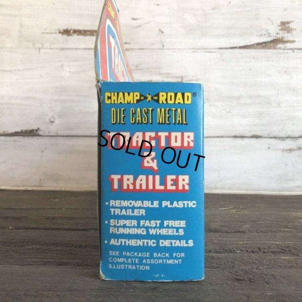画像2: 70s Vintage K-mart TRACTOR&TRAILER W/box (AC198)