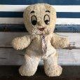 画像1: 50s Vintage Commonwealth Toy Casper Plush Doll (S376)  (1)
