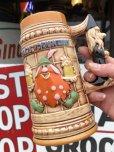 画像9: 70s Vintage Six Flags Magic Mountain Bloop Troll Stein  (S383)