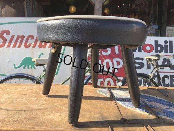 画像2: 60s Vintage DISNEY MICKEY MOUSE CLUB Child's Stool Chair Seat (S370)