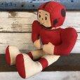 画像2: Vintage Football Player Doll (S367)  (2)