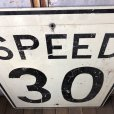 画像3: Vintage Road Sign SPEED 30 (S393)