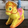 画像2: 80s Vintage Mattel Rocking Horse Toy (S403) (2)