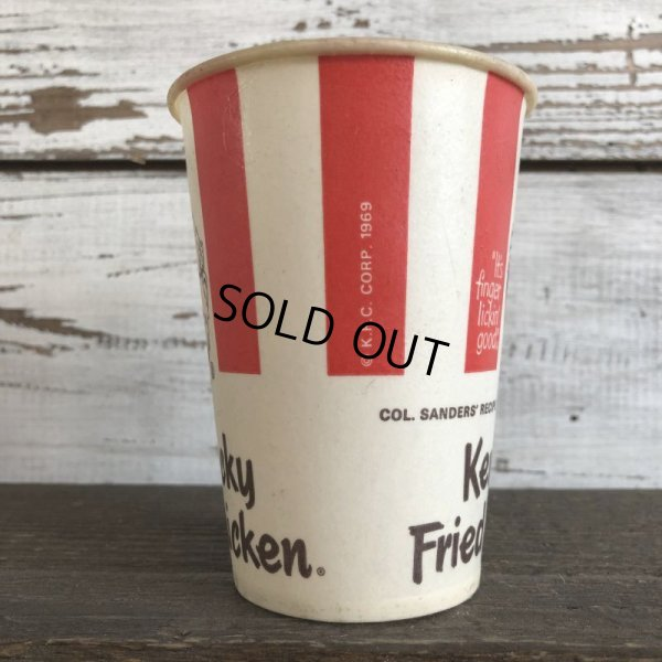 画像2: Vintage Wax Paper Cup KFC Kentucky Fried Chicken (S418)