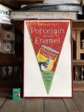 Antique OLD DUTCH Cleanser Advertising Store Banner Sign (S420)