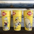 画像1: Vintage Wax Paper Cup Dairy Queen Dennis The Menace (S412) (1)
