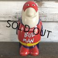 Vintage Budweiser Ceramic Beer Stein BAD MAN (S428)