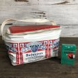 画像1: Vintage Budweiser 6-PACK Cooler Bag (S430) (1)