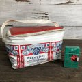 Vintage Budweiser 6-PACK Cooler Bag (S430)