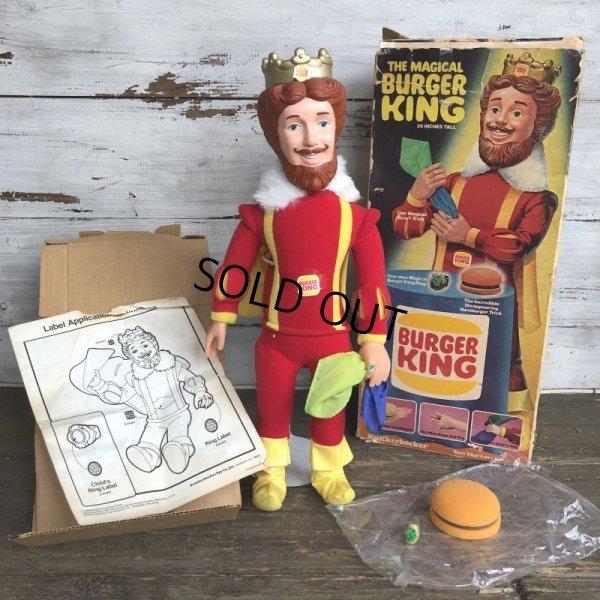 画像1: Vintage Knicker bocker The MAGICAL BURGER KING (S432)
