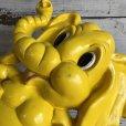 画像8: 70s Vintage Homco Wall Deco Yellow Elephant (S433)