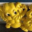 画像2: 70s Vintage Homco Wall Deco Yellow Elephant (S433)  (2)