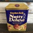 画像1: Vintage Cracker Jack Nutty Deluxe Can (S437) (1)