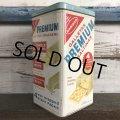 Vintage Can NABISCO Premium Saltine CRACKERS 14oz (S439)