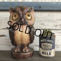 Vintage Owl Candle (S451)