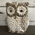 Vintage Sell Statue Owl giggle eye (S448)