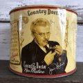 Vintage Cigar Tabacco Can PHILIP MORRIS Country Doctor Pipe (S460)