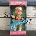 60s Vintage Uneeda WEE WALKER Doll (S479)