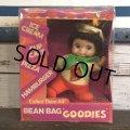 60s Vintage Horsman Bean Bag Goodies PIZZA Doll (S480)
