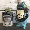 60s Vintage Ceramic Frog Bank (S487)