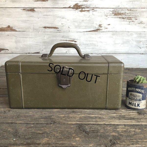 画像1: 40s Vintage Tackle Box HEDDON (S507)