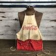 画像1: Vintage Original Vendor COCA-COLA  Apron (S729) (1)