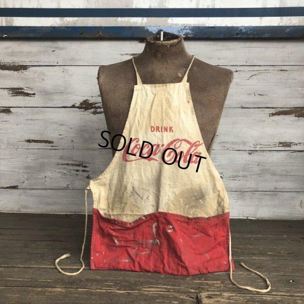 画像1: Vintage Original Vendor COCA-COLA  Apron (S729)