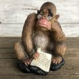 画像1: 60s Vintage Wall Street Journal Gorilla Plastic Bank WSJ (S526) (1)