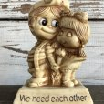 画像5: Vintage Message Doll We need each other (M134)  (5)