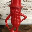 画像8: Vintage Planters Mr. Peanut Plastic Bank Red (S530)