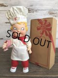 Vintage Campbell Soup Kids Doll Chef (S542)