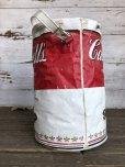 画像2: Vintage Campbell Soup Vinyl Cooler Bag (S543) (2)