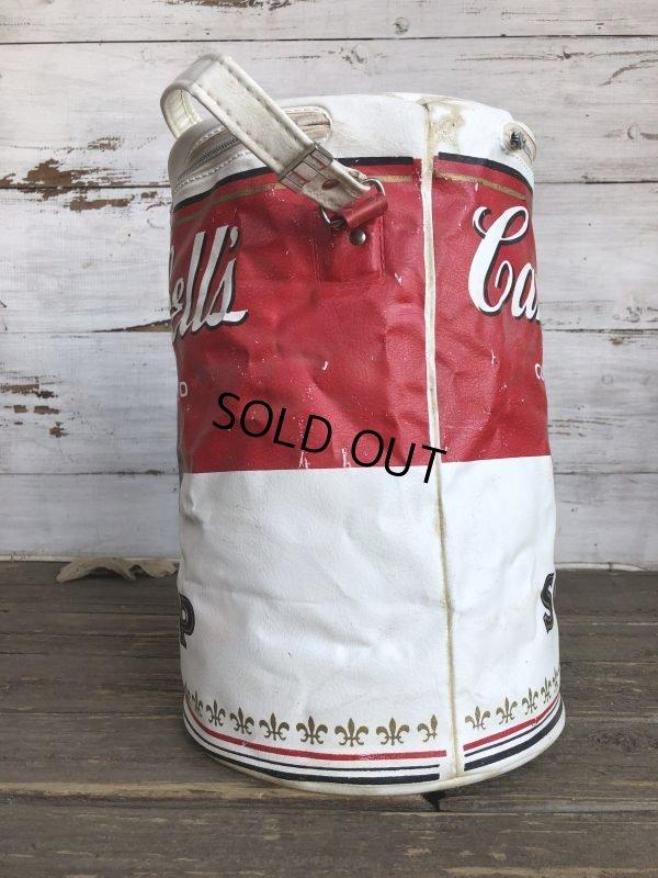 画像2: Vintage Campbell Soup Vinyl Cooler Bag (S543)